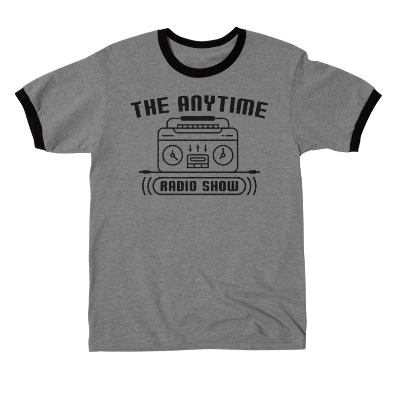 Anytime Radio Ringer T Shirt Men's T-Shirt by Jack Farmer Apparel