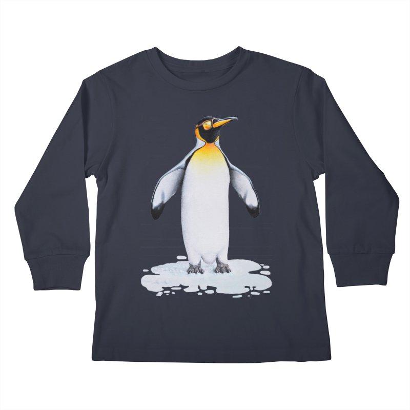 I ain't feeling cool! Kids Longsleeve T-Shirt by RealZeal's Artist Shop