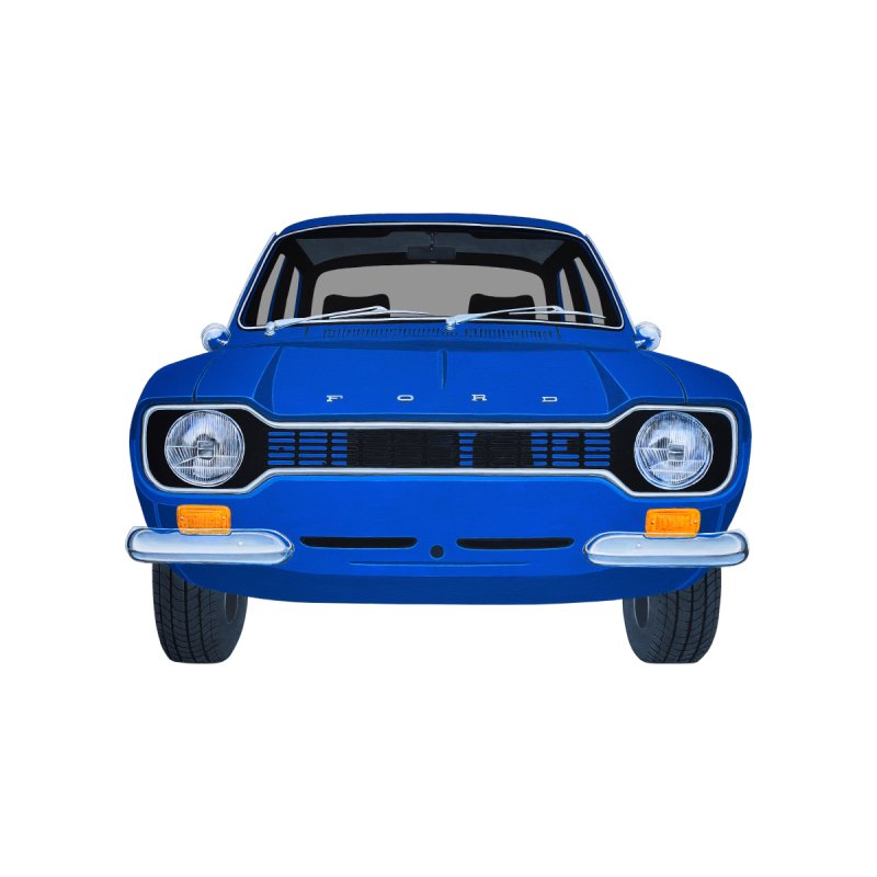 ESCORT MK1_MEXICO (Blue) Home Duvet by RealZeal's Artist Shop