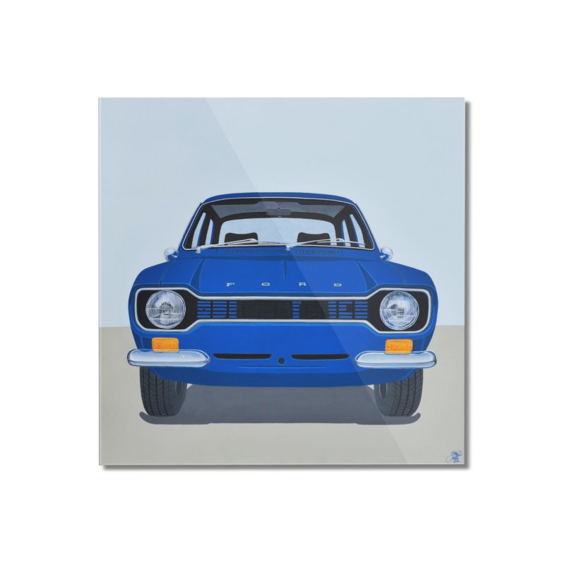 ESCORT MK1_MEXICO (Blue) Home Mounted Acrylic Print by RealZeal's Artist Shop