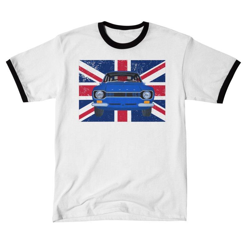 ESCORT MK1_MEXICO (Blue) Men's T-Shirt by RealZeal's Artist Shop