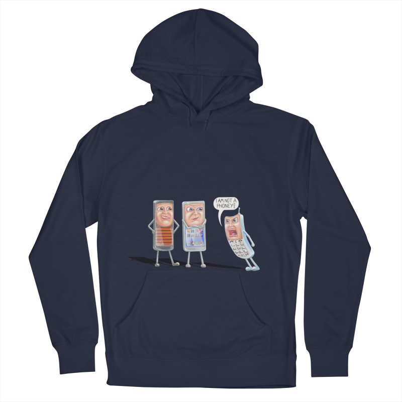 I Am Not A Phoney! Women's Pullover Hoody by RealZeal's Artist Shop