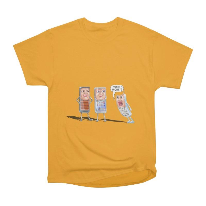 I Am Not A Phoney! Men's Classic T-Shirt by realzeal's Artist Shop