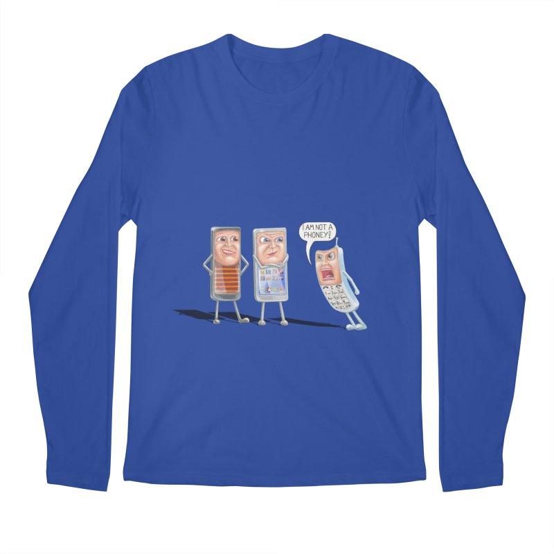 I Am Not A Phoney! Men's Longsleeve T-Shirt by RealZeal's Artist Shop