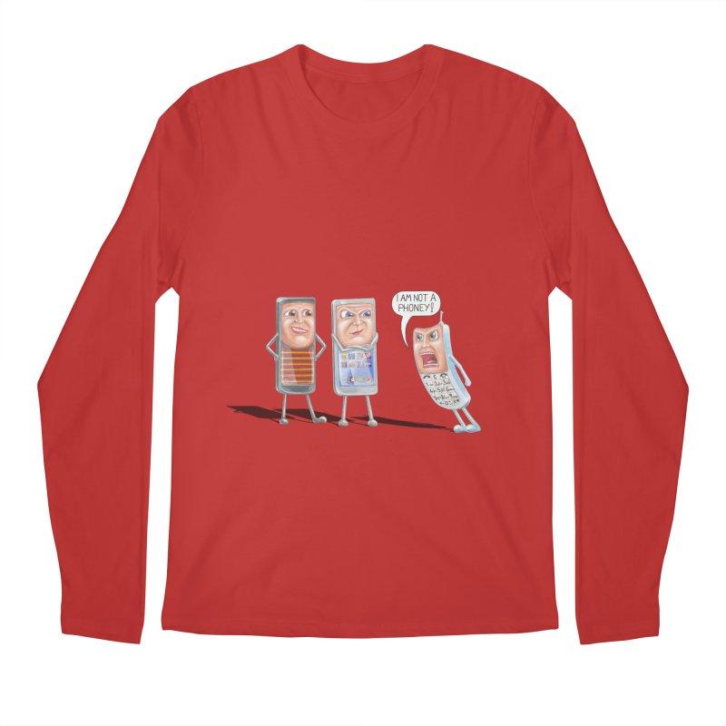 I Am Not A Phoney! Men's Regular Longsleeve T-Shirt by RealZeal's Artist Shop