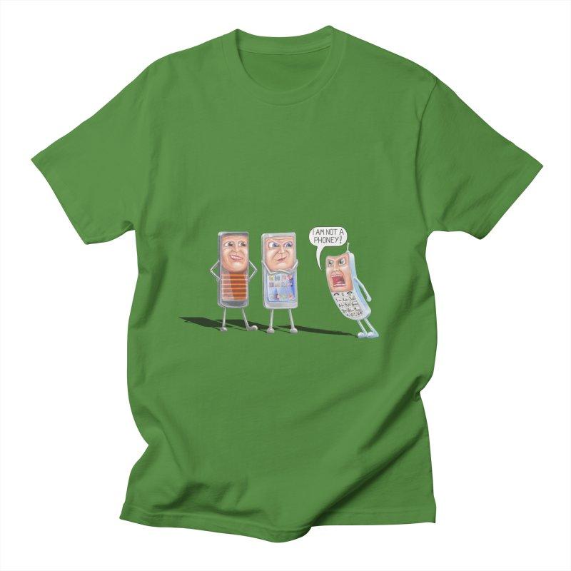 I Am Not A Phoney! Men's T-Shirt by RealZeal's Artist Shop