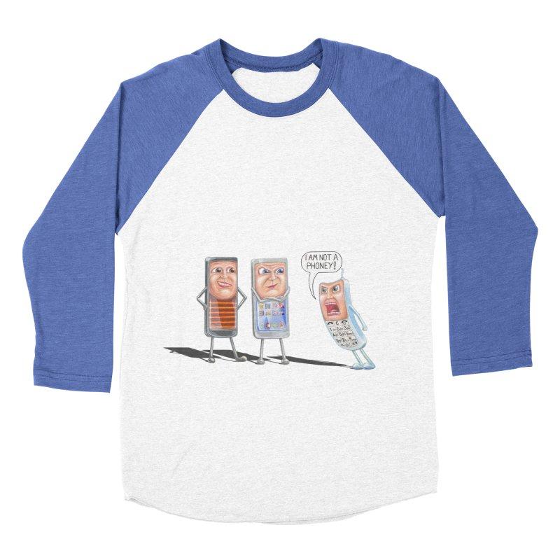 I Am Not A Phoney! Women's Baseball Triblend Longsleeve T-Shirt by RealZeal's Artist Shop