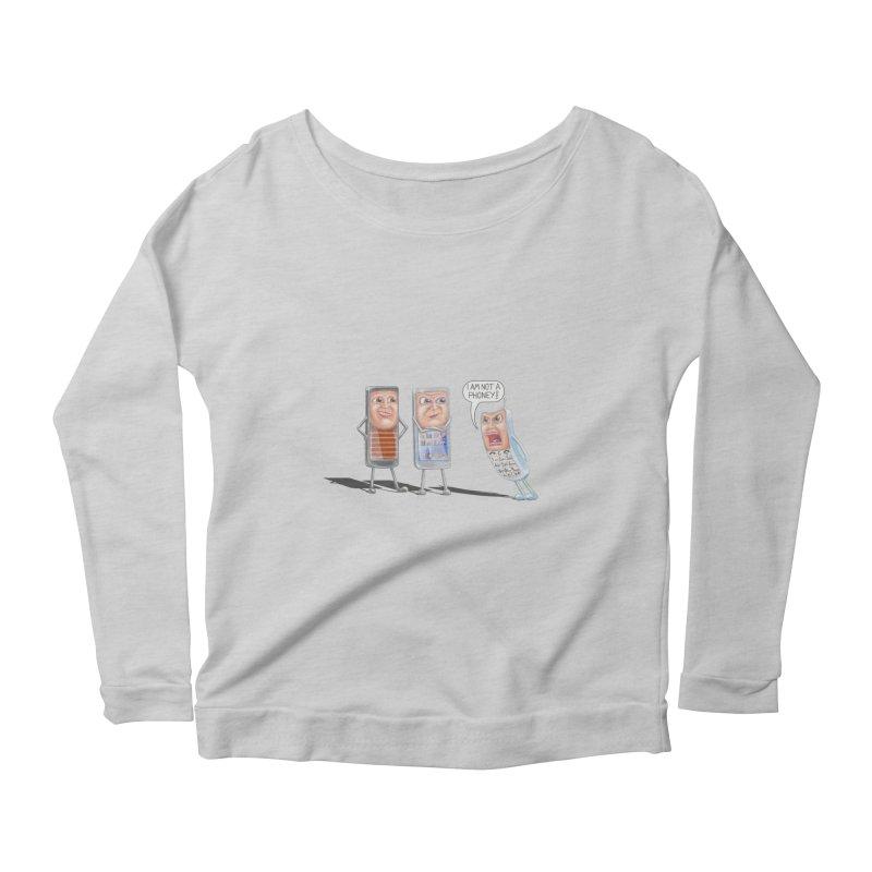 I Am Not A Phoney! Women's Scoop Neck Longsleeve T-Shirt by RealZeal's Artist Shop
