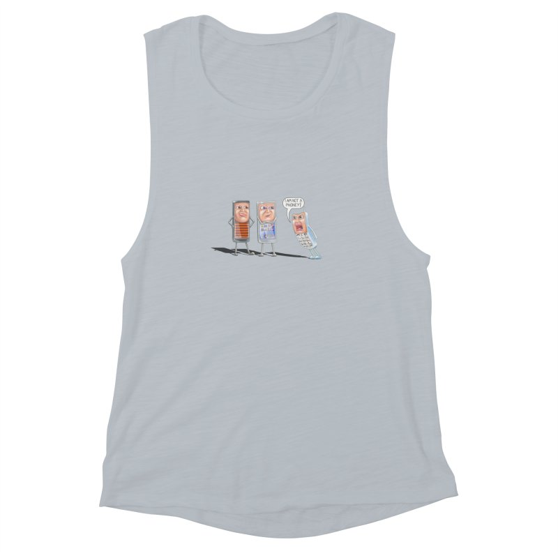 I Am Not A Phoney! Women's Muscle Tank by RealZeal's Artist Shop