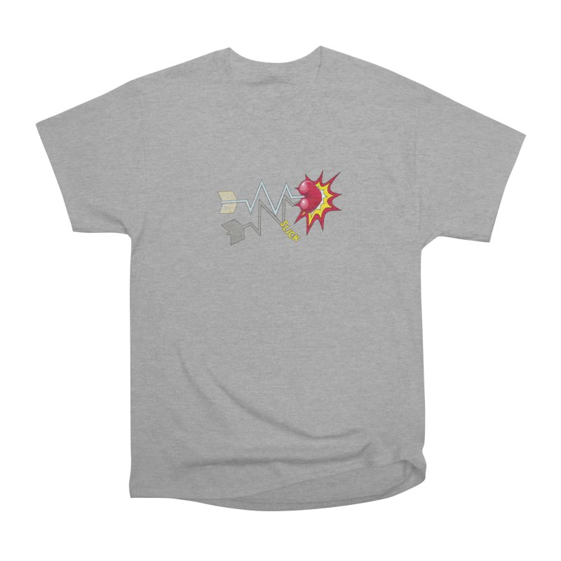In A Heartbeat Men's Heavyweight T-Shirt by RealZeal's Artist Shop