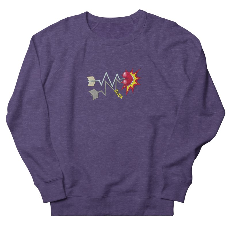 In A Heartbeat Women's French Terry Sweatshirt by RealZeal's Artist Shop