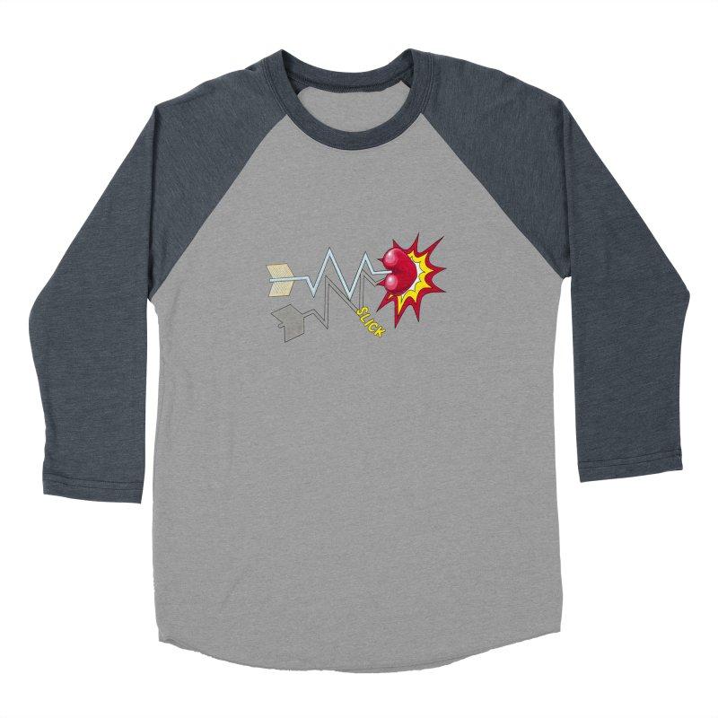 In A Heartbeat Men's Baseball Triblend Longsleeve T-Shirt by RealZeal's Artist Shop