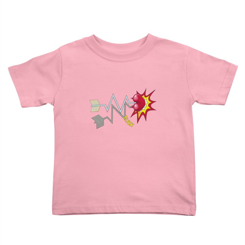 In A Heartbeat Kids Toddler T-Shirt by RealZeal's Artist Shop
