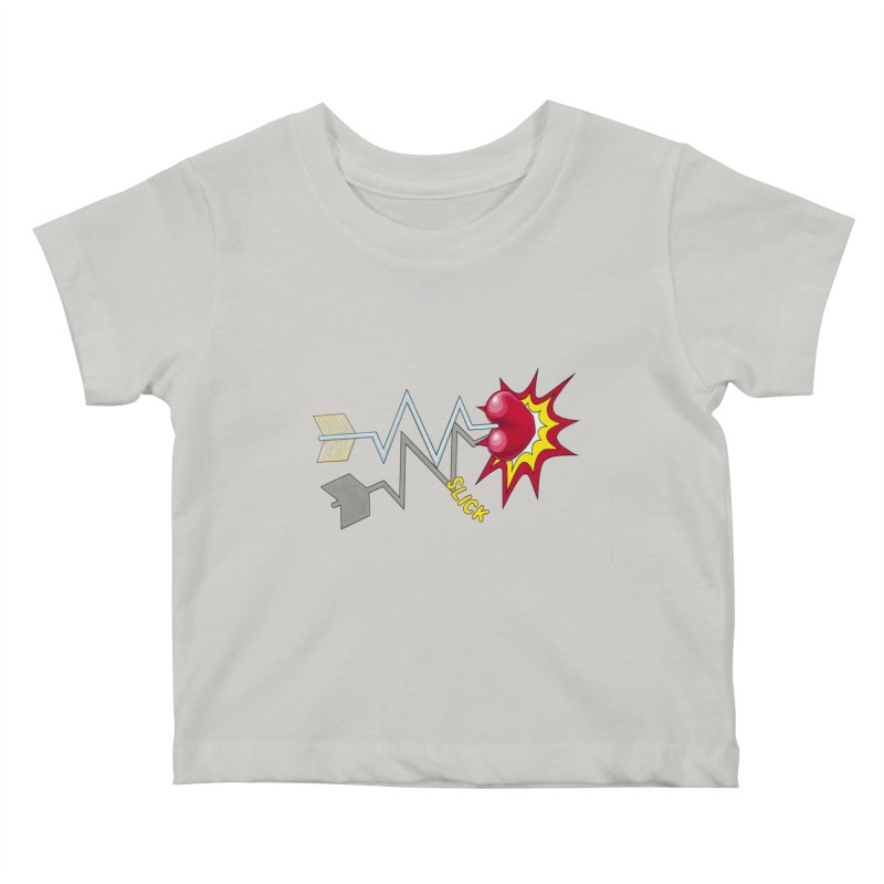 In A Heartbeat Kids Baby T-Shirt by realzeal's Artist Shop