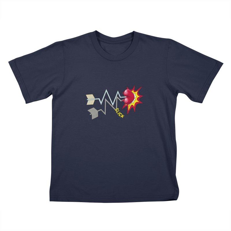 In A Heartbeat Kids T-Shirt by RealZeal's Artist Shop
