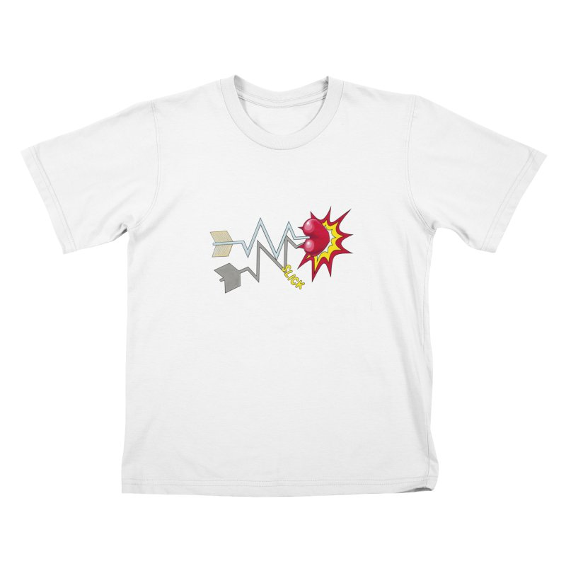 In A Heartbeat Kids T-shirt by realzeal's Artist Shop