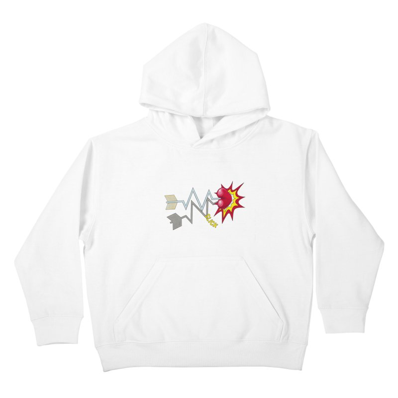 In A Heartbeat Kids Pullover Hoody by RealZeal's Artist Shop