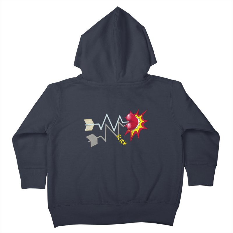 In A Heartbeat Kids Toddler Zip-Up Hoody by RealZeal's Artist Shop