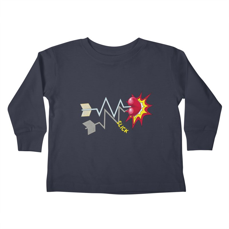 In A Heartbeat Kids Toddler Longsleeve T-Shirt by RealZeal's Artist Shop
