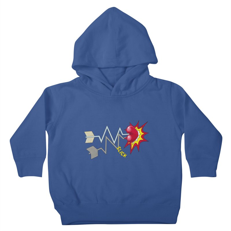 In A Heartbeat Kids Toddler Pullover Hoody by RealZeal's Artist Shop