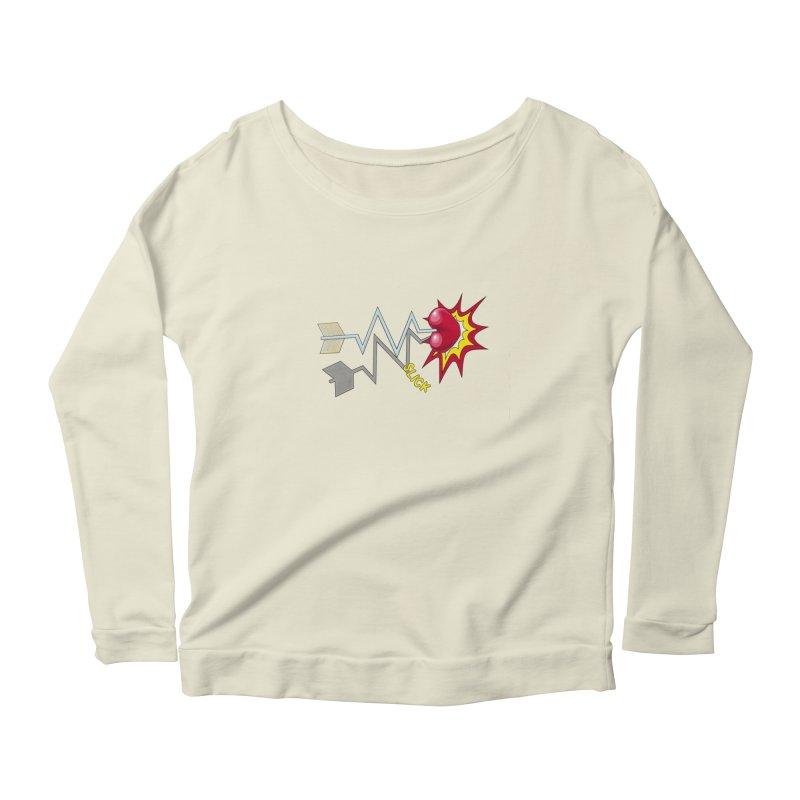 In A Heartbeat Women's Scoop Neck Longsleeve T-Shirt by RealZeal's Artist Shop