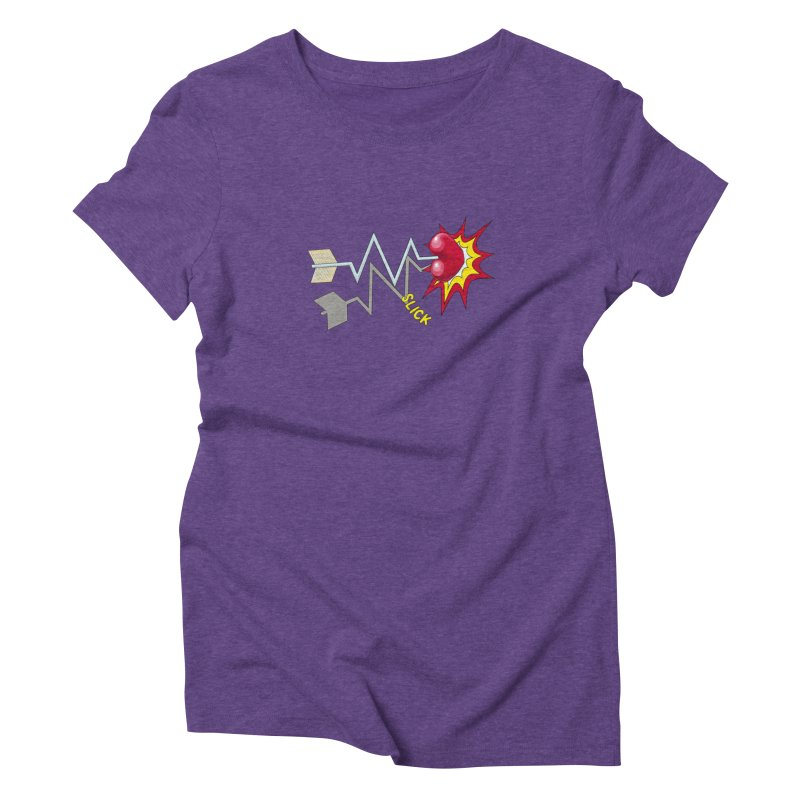 In A Heartbeat Women's Triblend T-Shirt by RealZeal's Artist Shop
