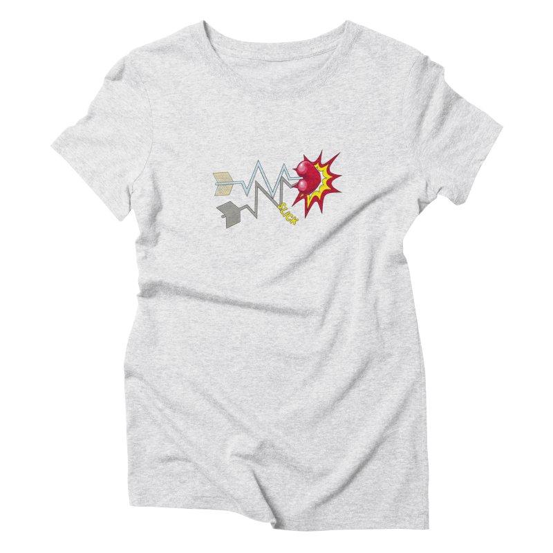In A Heartbeat Women's Triblend T-Shirt by RealZeal's Artist Shop
