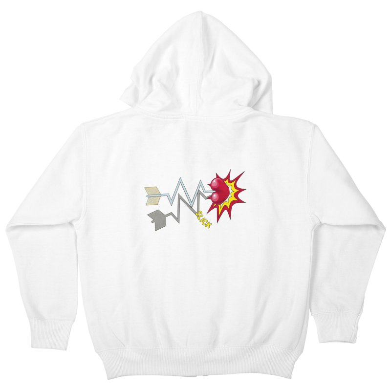 In A Heartbeat Kids Zip-Up Hoody by RealZeal's Artist Shop