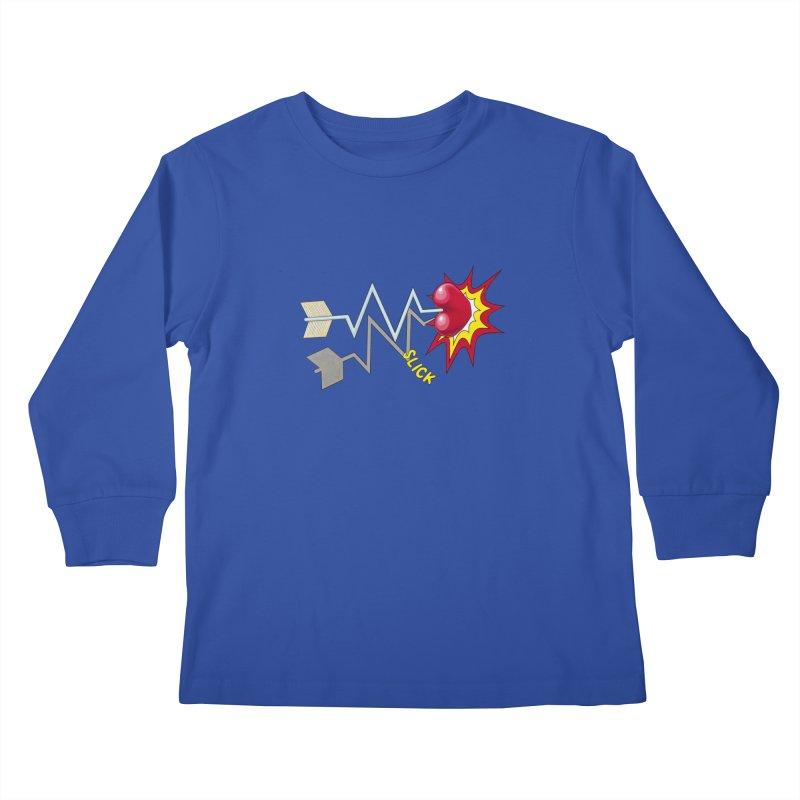 In A Heartbeat Kids Longsleeve T-Shirt by RealZeal's Artist Shop