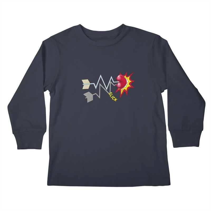 In A Heartbeat Kids Longsleeve T-Shirt by RealZeal's Artist Shop