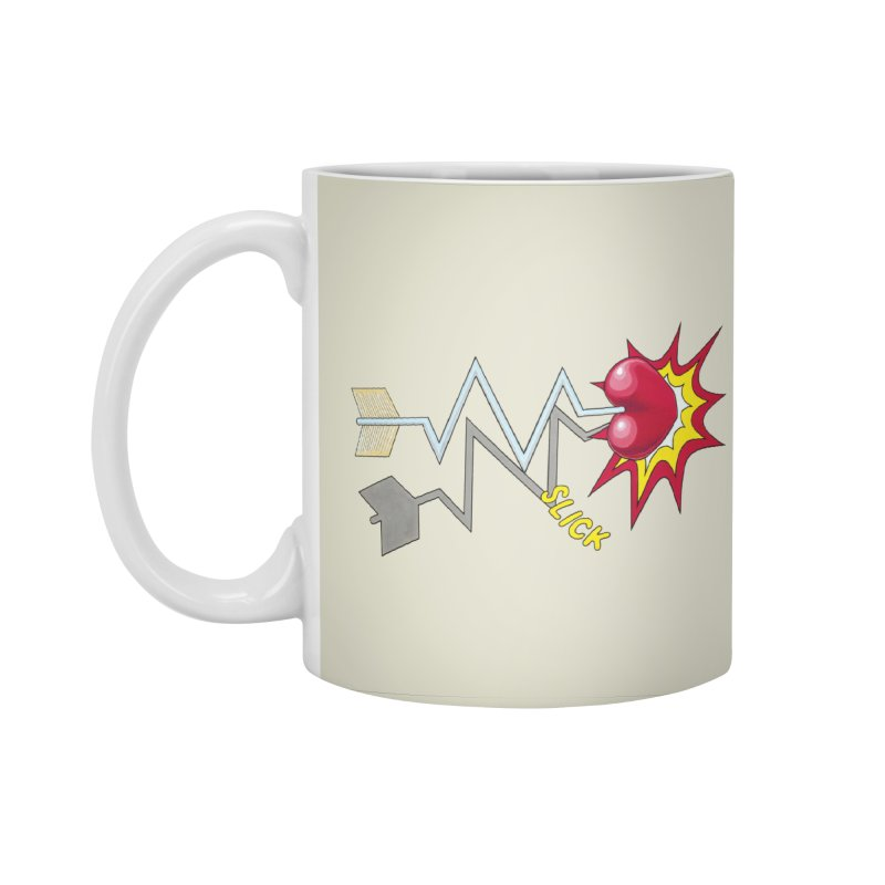 In A Heartbeat Accessories Standard Mug by RealZeal's Artist Shop
