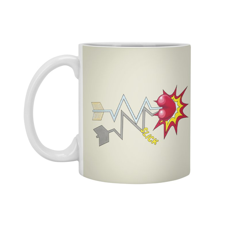 In A Heartbeat Accessories Mug by RealZeal's Artist Shop