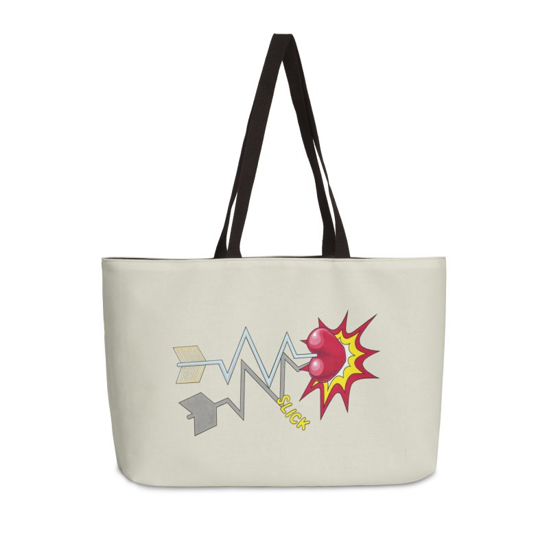 In A Heartbeat Accessories Weekender Bag Bag by RealZeal's Artist Shop