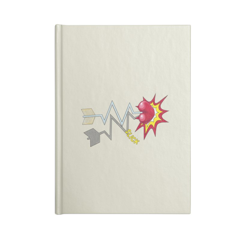 In A Heartbeat Accessories Lined Journal Notebook by RealZeal's Artist Shop
