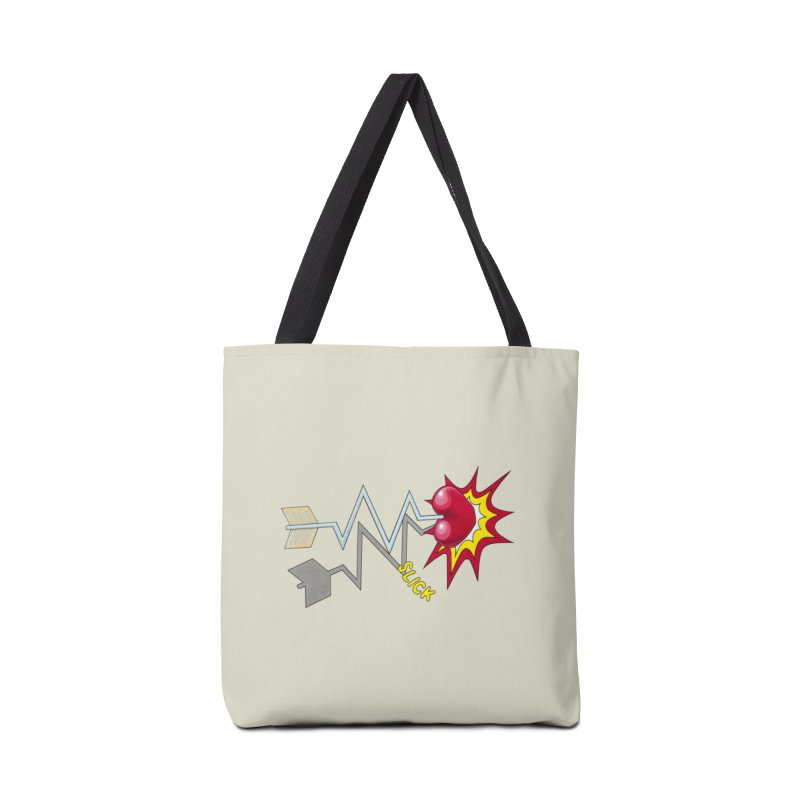In A Heartbeat Accessories Bag by RealZeal's Artist Shop