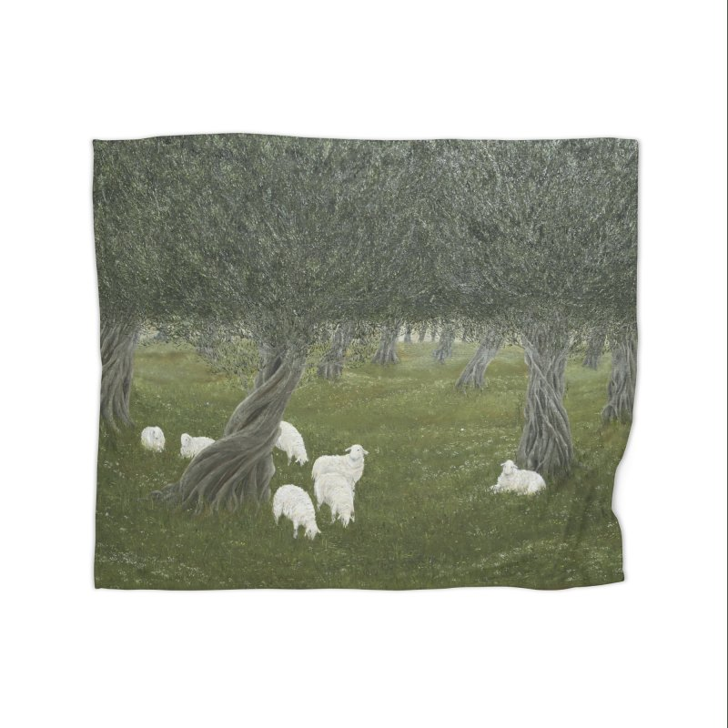 Shamble Grove.....an eerie silence.  Home Fleece Blanket Blanket by RealZeal's Artist Shop