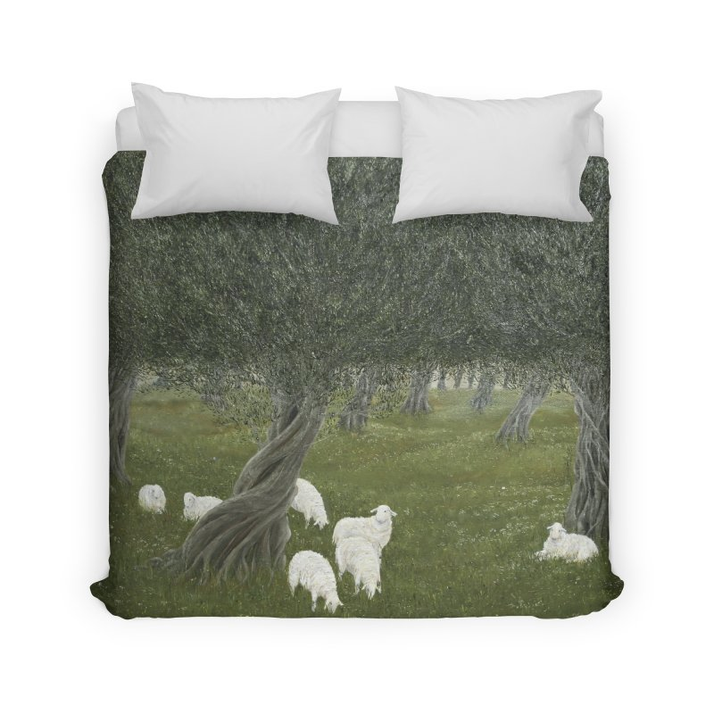 Shamble Grove.....an eerie silence.  Home Duvet by RealZeal's Artist Shop