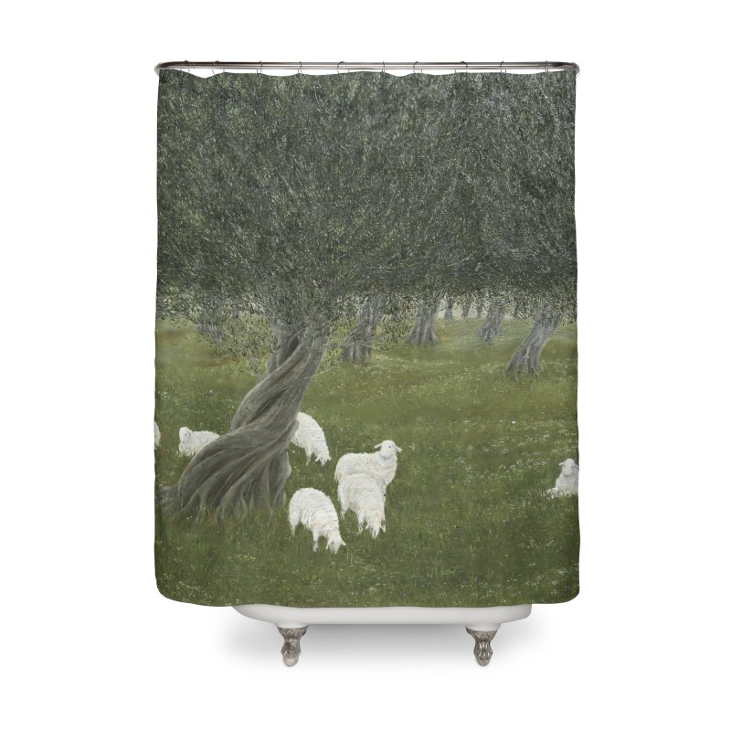Shamble Grove.....an eerie silence.  Home Shower Curtain by RealZeal's Artist Shop