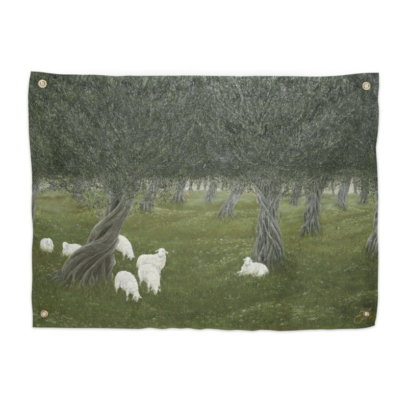 Shamble Grove.....an eerie silence.  Home Tapestry by RealZeal's Artist Shop