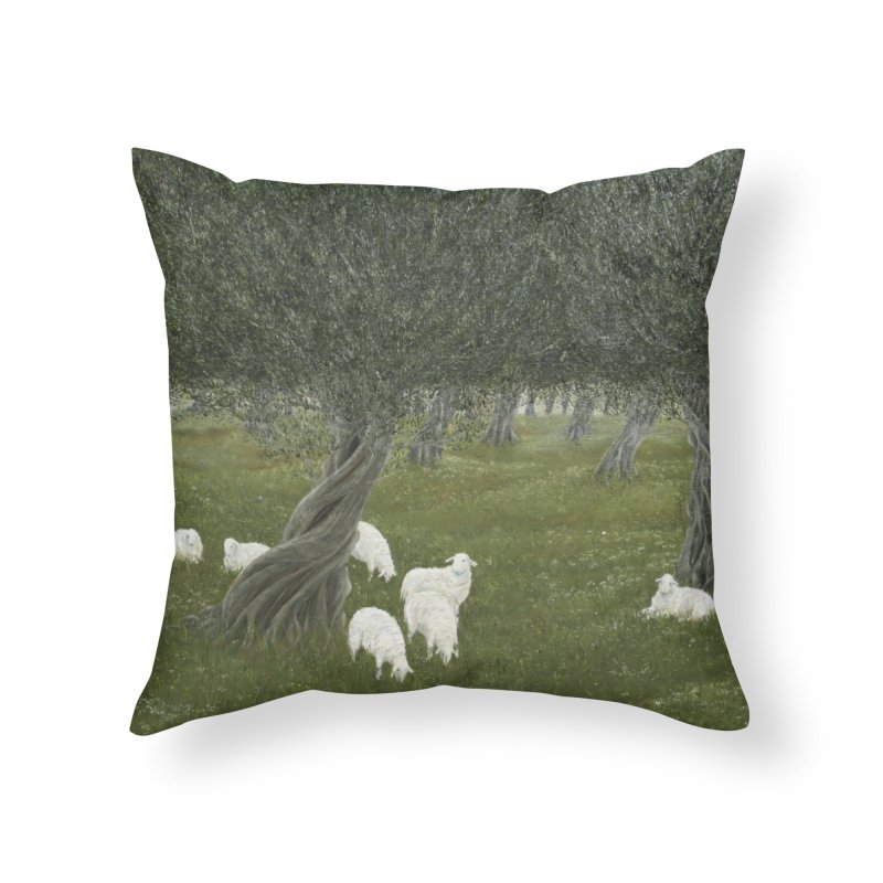 Shamble Grove.....an eerie silence.  Home Throw Pillow by realzeal's Artist Shop