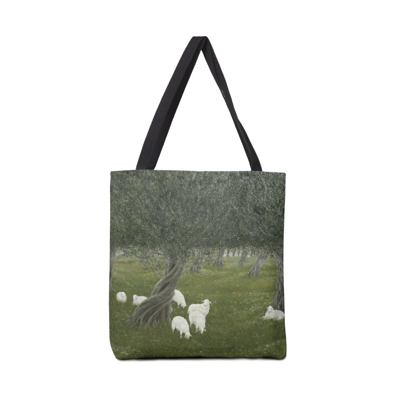 Shamble Grove.....an eerie silence.  Accessories Bag by RealZeal's Artist Shop