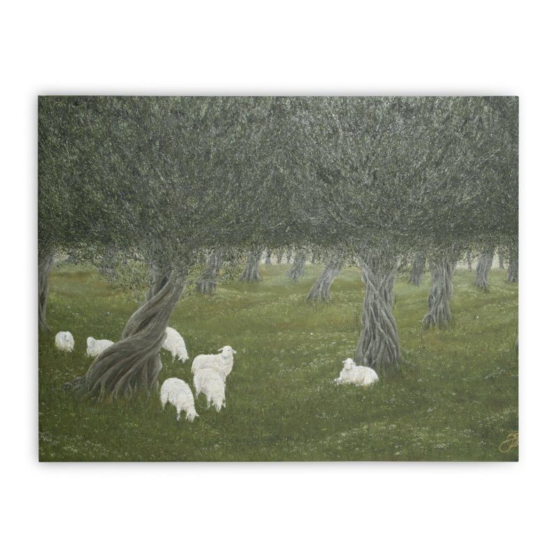 Shamble Grove.....an eerie silence.  Home Stretched Canvas by realzeal's Artist Shop