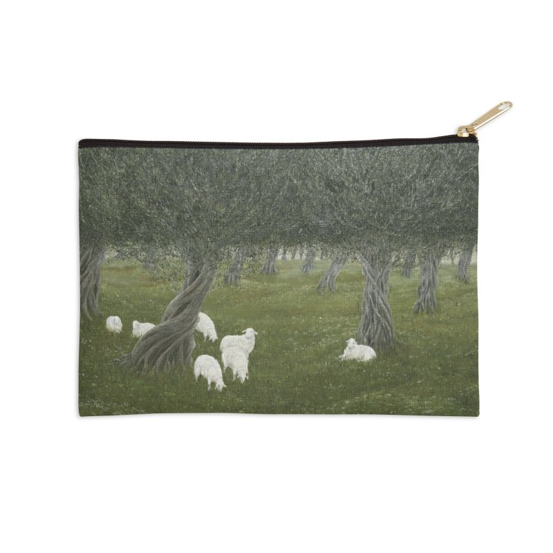 Shamble Grove.....an eerie silence.  Accessories Zip Pouch by RealZeal's Artist Shop