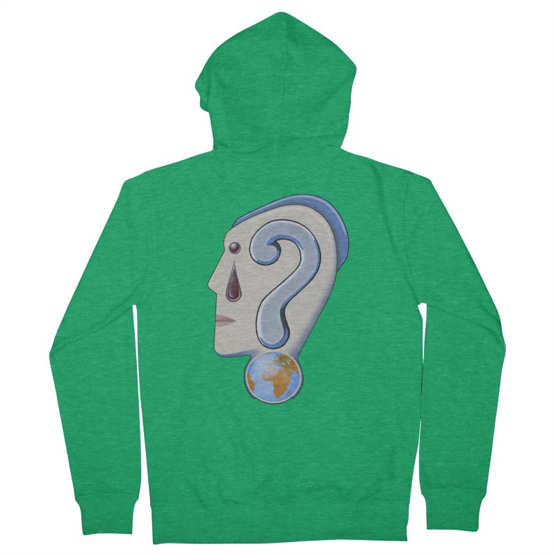 STOPPER 3......Strange things are happening. Men's Zip-Up Hoody by RealZeal's Artist Shop