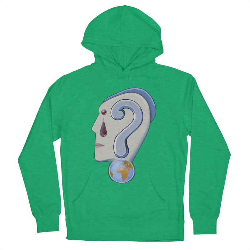 STOPPER 3......Strange things are happening. Men's French Terry Pullover Hoody by RealZeal's Artist Shop