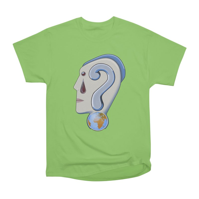 STOPPER 3......Strange things are happening. Men's Heavyweight T-Shirt by RealZeal's Artist Shop
