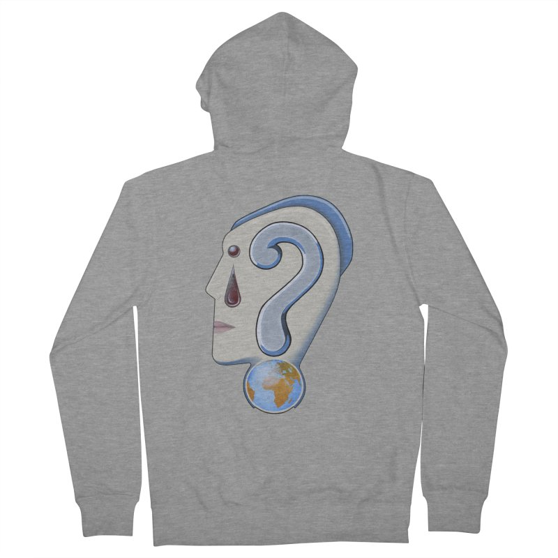 STOPPER 3......Strange things are happening. Women's Zip-Up Hoody by RealZeal's Artist Shop