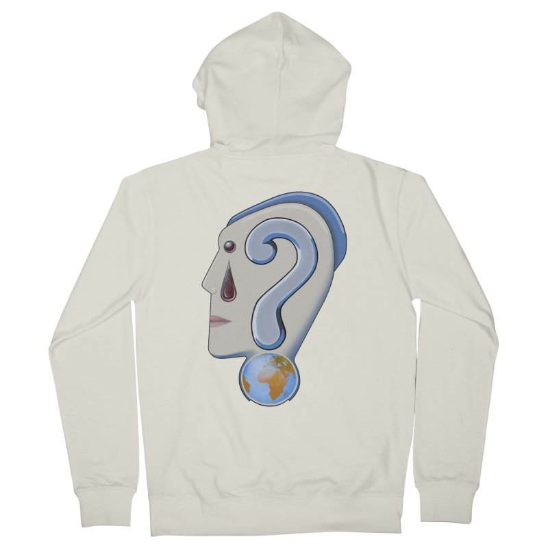 STOPPER 3......Strange things are happening. Women's French Terry Zip-Up Hoody by RealZeal's Artist Shop