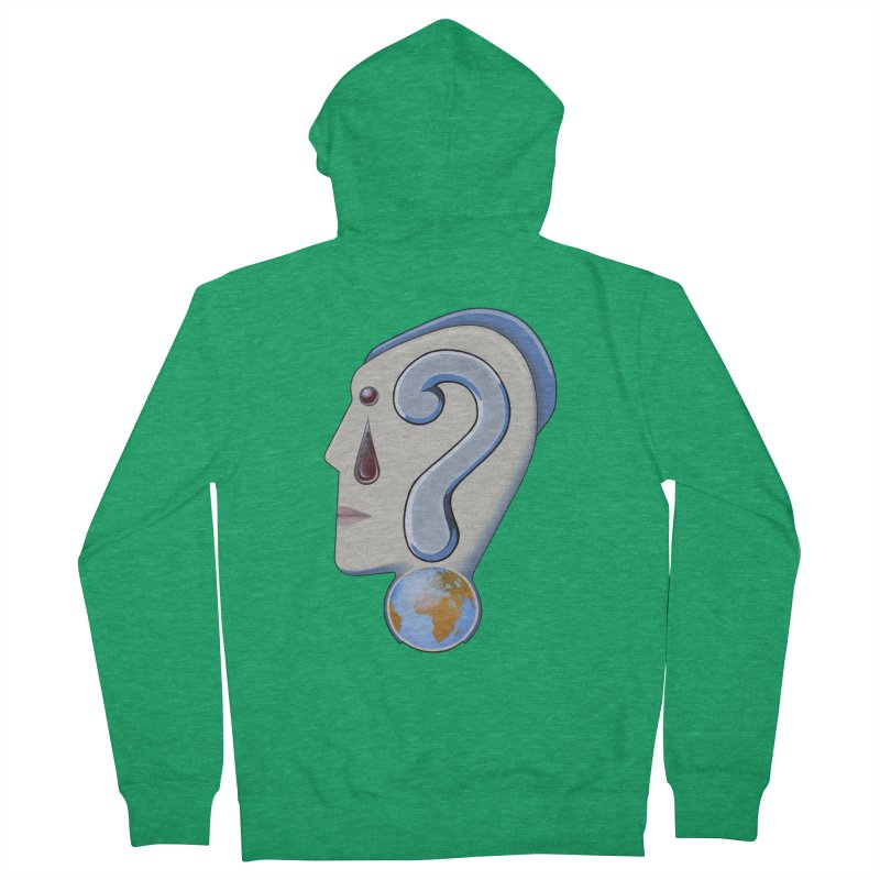 STOPPER 3......Strange things are happening. Men's French Terry Zip-Up Hoody by RealZeal's Artist Shop