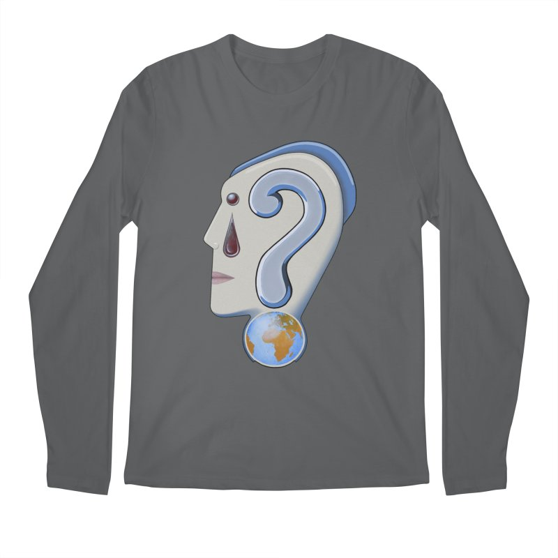 STOPPER 3......Strange things are happening. Men's Longsleeve T-Shirt by realzeal's Artist Shop